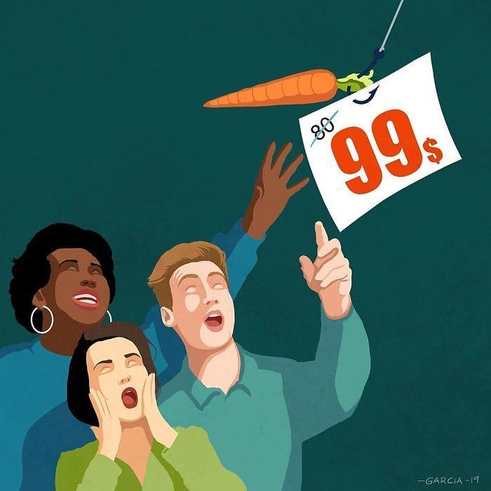 36 ilustrações que mostram o que há de errado com nossa sociedade 16