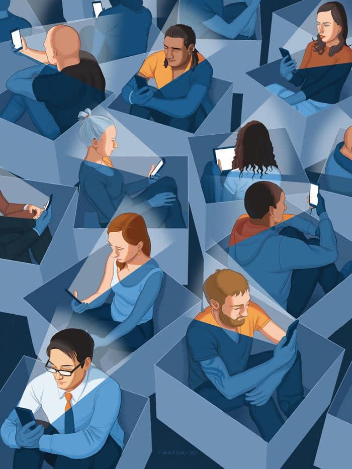 36 ilustrações que mostram o que há de errado com nossa sociedade 18