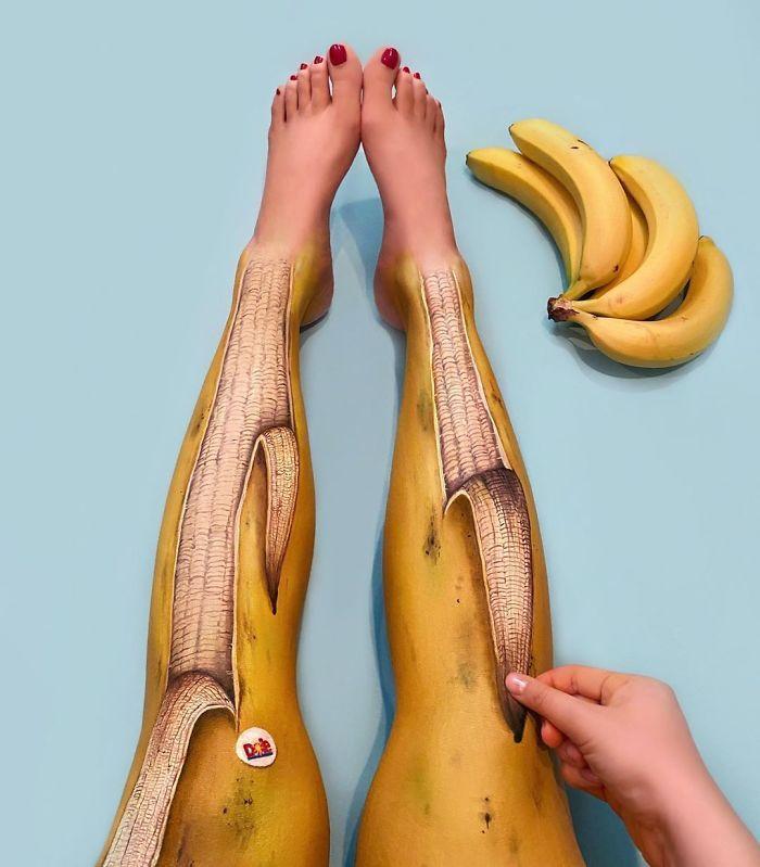 Maquiadora criar ilusões de ótica incrível em pernas e braços (30 fotos) 8