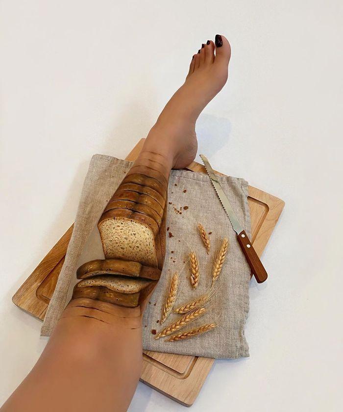 Maquiadora criar ilusões de ótica incrível em pernas e braços (30 fotos) 11