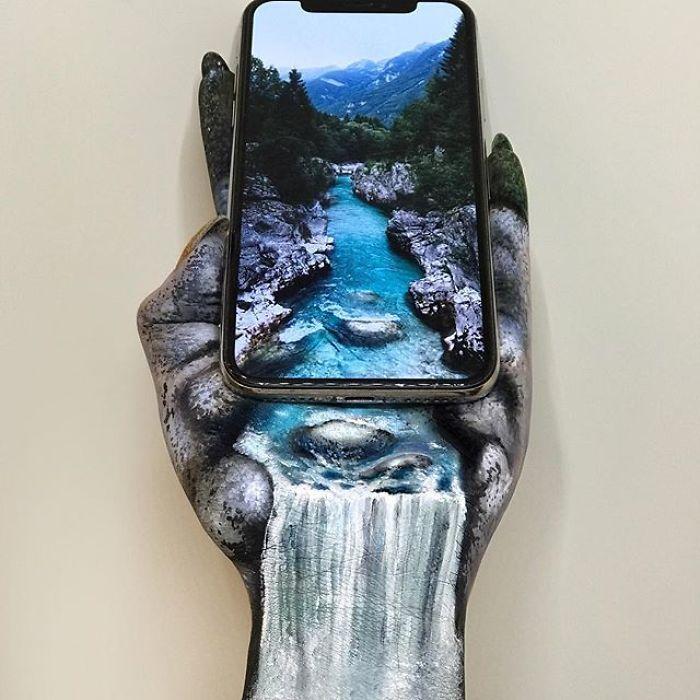 Maquiadora criar ilusões de ótica incrível em pernas e braços (30 fotos) 27