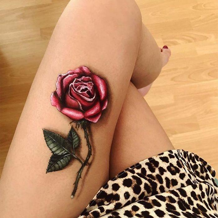 Maquiadora criar ilusões de ótica incrível em pernas e braços (30 fotos) 29