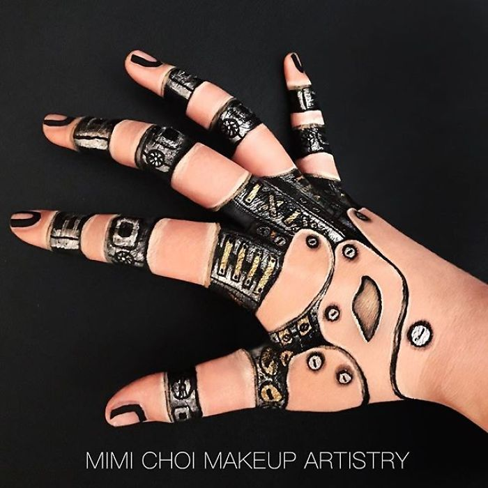Maquiadora criar ilusões de ótica incrível em pernas e braços (30 fotos) 30