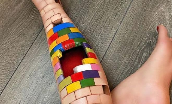 Maquiadora criar ilusões de ótica incrível em pernas e braços (30 fotos) 2
