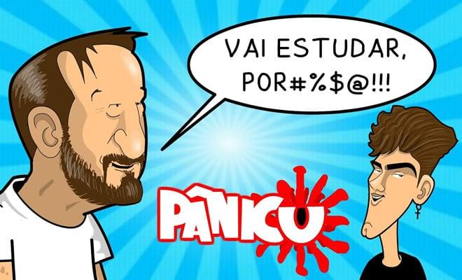 Emílio e o Pânico detonam Mário Jr do TikTok 1