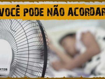 O que um ventilador faz com seu corpo enquanto está dormindo? 9