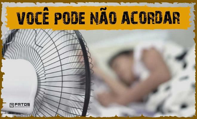 O que um ventilador faz com seu corpo enquanto está dormindo? 2