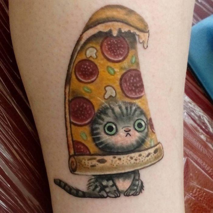45 pessoas que fizeram tatuagens absolutamente incríveis de gatos 3