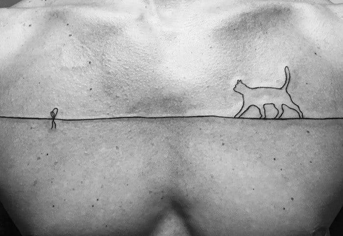45 pessoas que fizeram tatuagens absolutamente incríveis de gatos 29