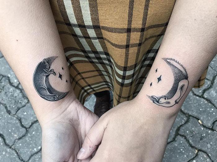45 pessoas que fizeram tatuagens absolutamente incríveis de gatos 35