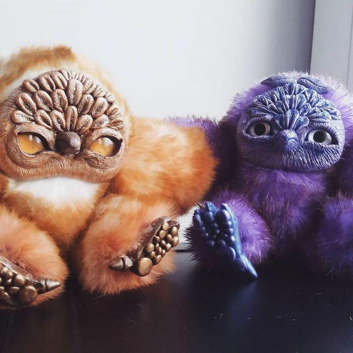 25 trabalho de uma espirante de brinquedos que são assustadores e fofos 26