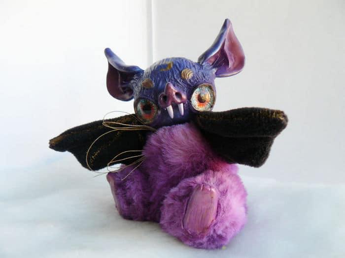 25 trabalho de uma espirante de brinquedos que são assustadores e fofos 18
