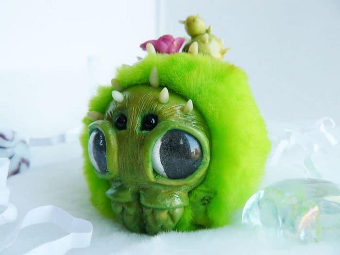 25 trabalho de uma espirante de brinquedos que são assustadores e fofos 19