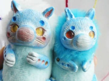 25 trabalho de uma espirante de brinquedos que são assustadores e fofos 4