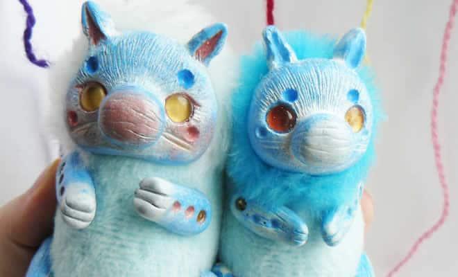25 trabalho de uma espirante de brinquedos que são assustadores e fofos 31