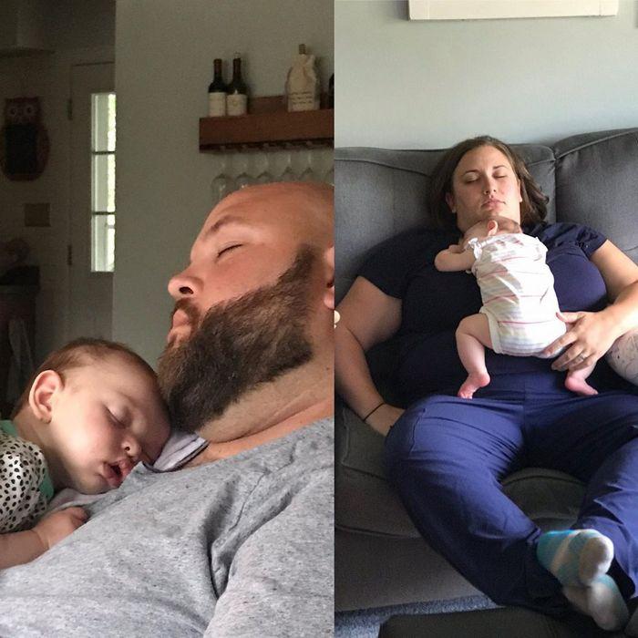 A conta do Instagram Got Toddlered mostra os pais antes e depois dos filhos 31