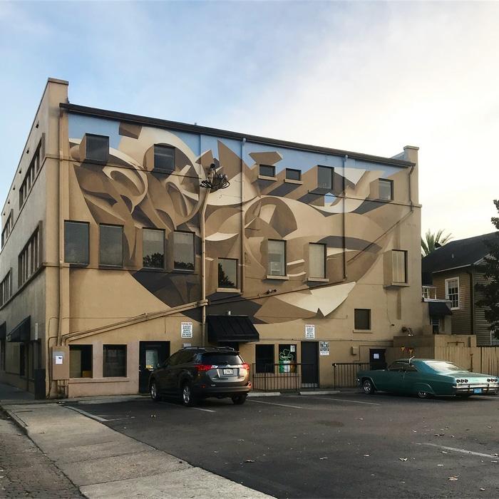 Artista cria obra surreais que parecem mudar a forma dos imóveis 10