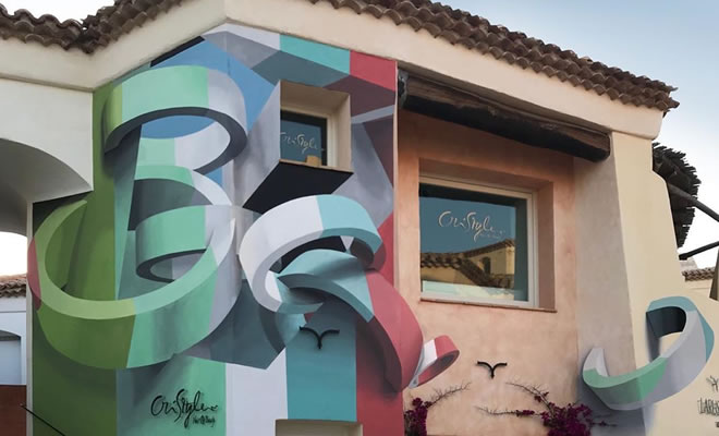 Artista cria obra surreais que parecem mudar a forma dos imóveis 1