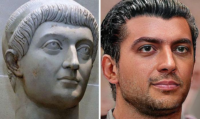 Artista mostra como os imperadores romanos eram na vida real 60