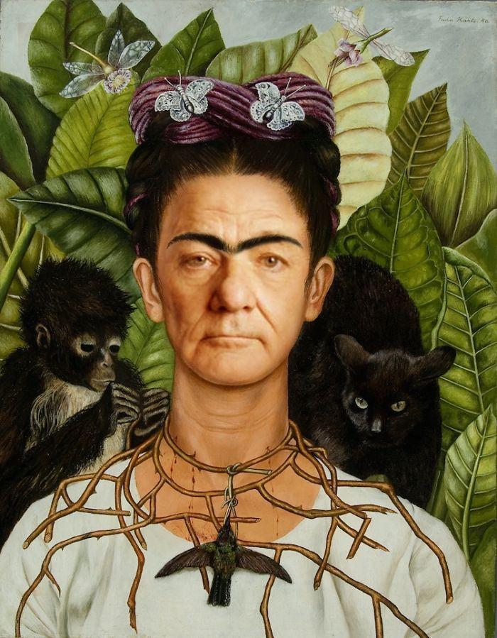 Artista reimagina pinturas icônicas com o rosto de Bill Murray 4