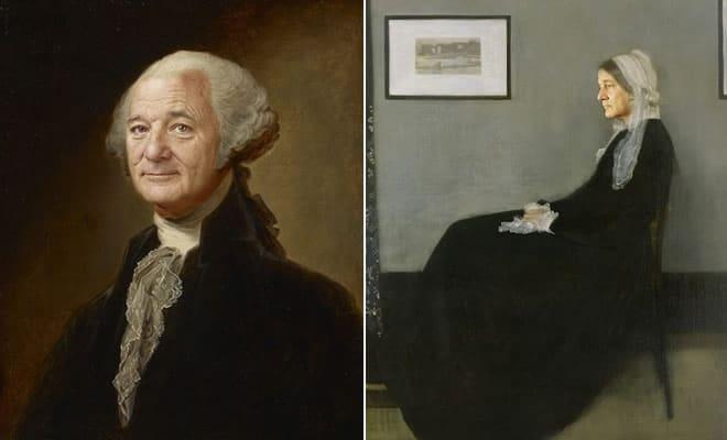 Artista reimagina pinturas icônicas com o rosto de Bill Murray 3