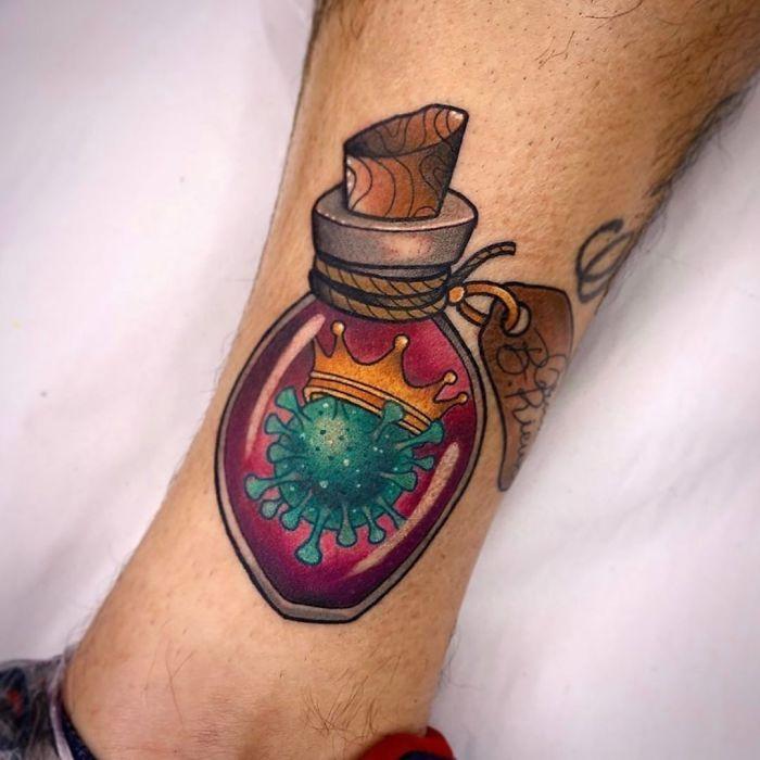 As pessoas estão fazendo tatuagens Covid-19 e aqui estão 40 das melhores 7