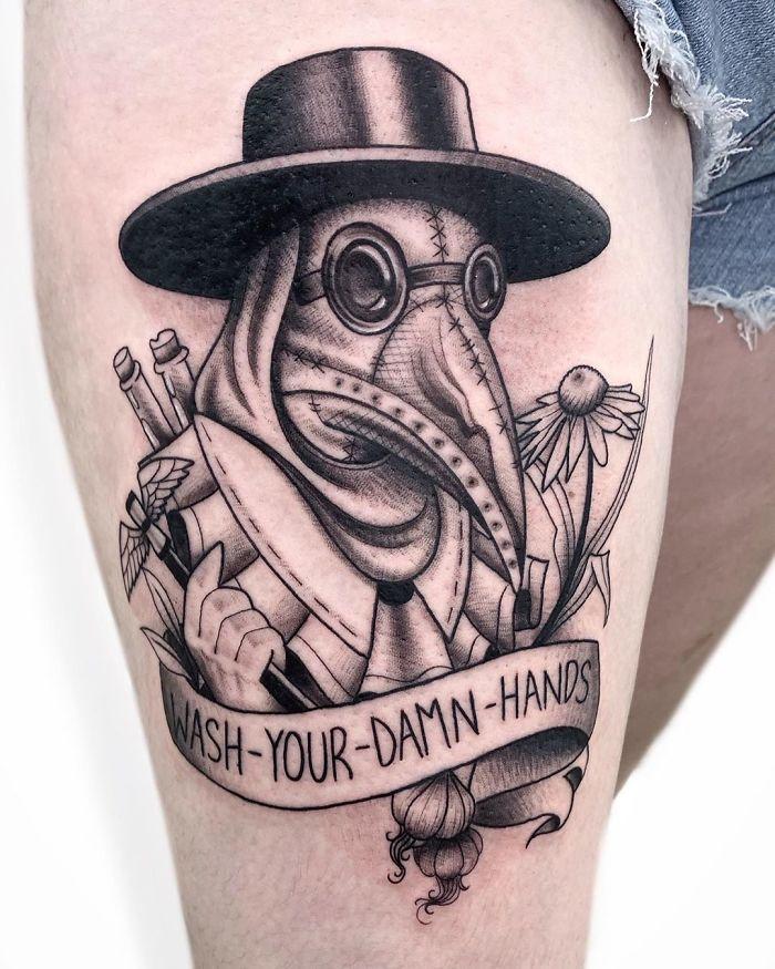 As pessoas estão fazendo tatuagens Covid-19 e aqui estão 40 das melhores 12