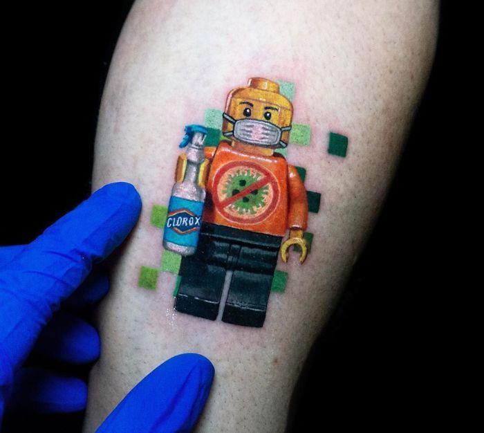 As pessoas estão fazendo tatuagens Covid-19 e aqui estão 40 das melhores 20