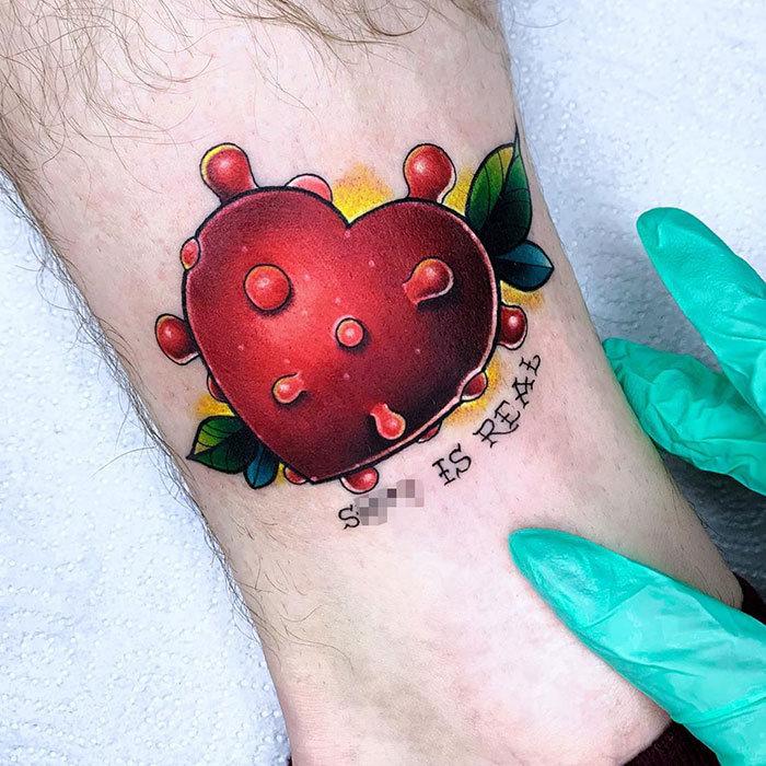 As pessoas estão fazendo tatuagens Covid-19 e aqui estão 40 das melhores 23
