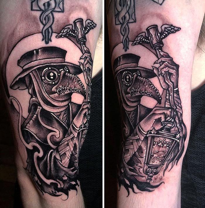 As pessoas estão fazendo tatuagens Covid-19 e aqui estão 40 das melhores 25