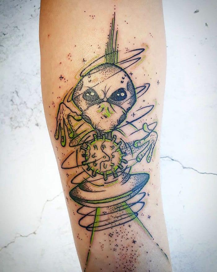 As pessoas estão fazendo tatuagens Covid-19 e aqui estão 40 das melhores 28