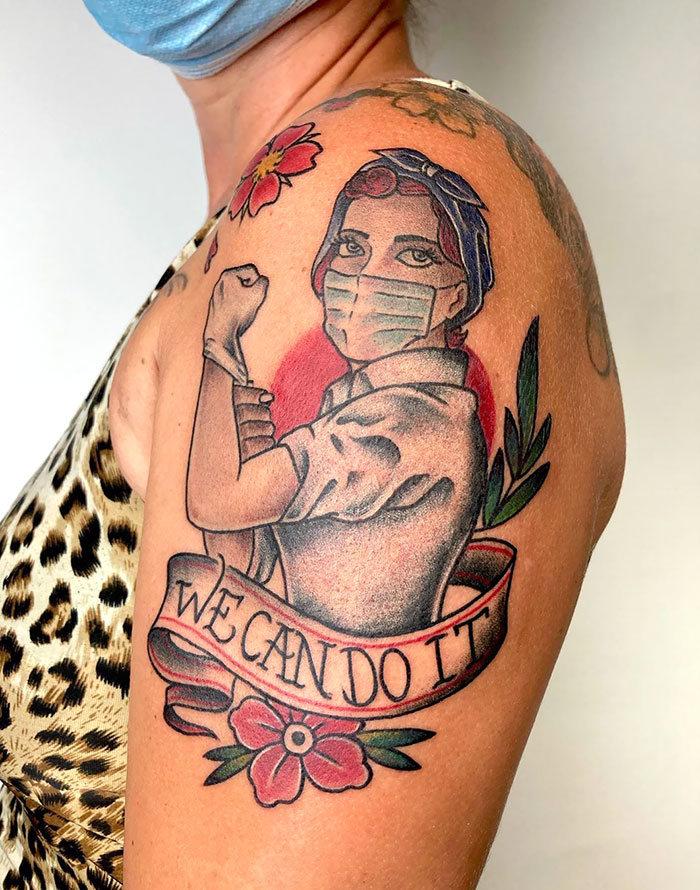 As pessoas estão fazendo tatuagens Covid-19 e aqui estão 40 das melhores 29