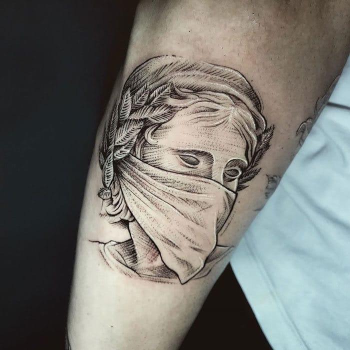 As pessoas estão fazendo tatuagens Covid-19 e aqui estão 40 das melhores 35