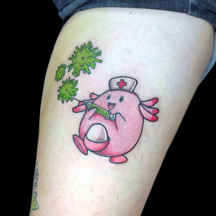 As pessoas estão fazendo tatuagens Covid-19 e aqui estão 40 das melhores 38