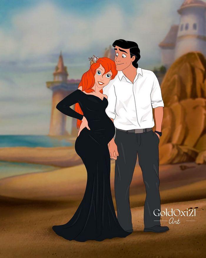 12 casais famosos da Disney esperando seus bebês 11