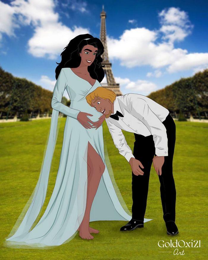 12 casais famosos da Disney esperando seus bebês 12