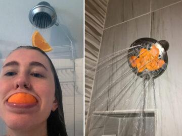 Existe uma comunidade online feita para pessoas que gostam de tomar banho de laranjas 4