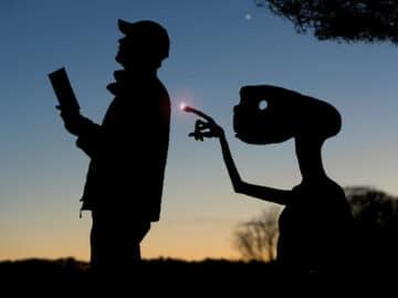 Este artista recorta papelão para criar obras mágicas ao pôr do sol 5