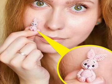 Este artista russa cria pequenos bichinhos de pelúcia de crochê que você pode levar a qualquer lugar (20 fotos) 25