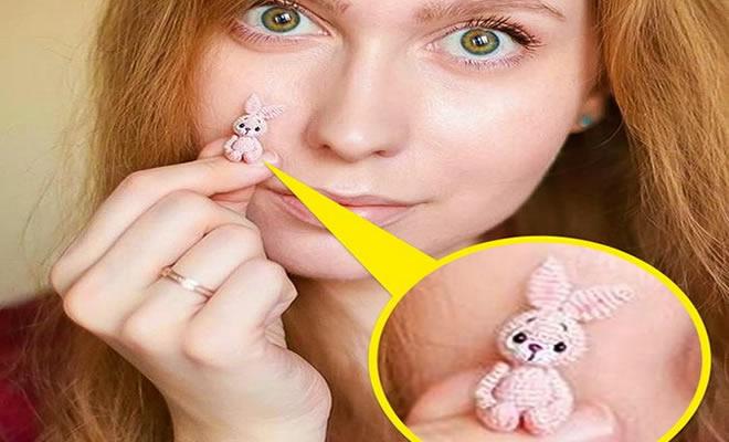 Este artista russa cria pequenos bichinhos de pelúcia de crochê que você pode levar a qualquer lugar (20 fotos) 18