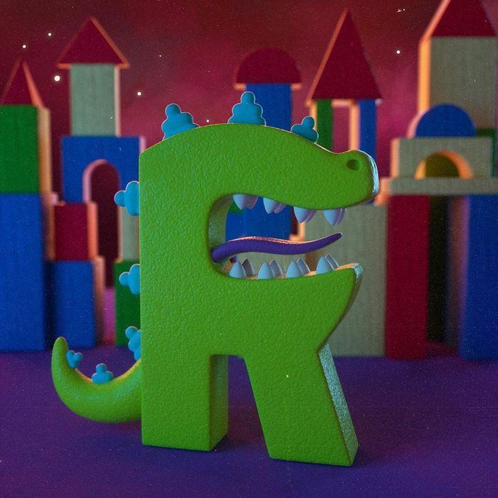 Ilustrador criou um alfabeto inspirado em seus desenhos animados de infância 19