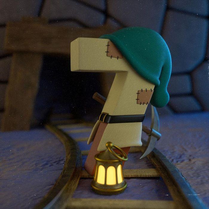Ilustrador criou um alfabeto inspirado em seus desenhos animados de infância 35