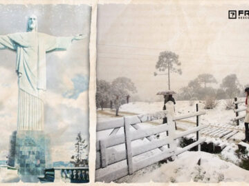 Neve no Brasil? Entenda o fenômeno que pode fazer nevar em 4 estados brasileiros 4
