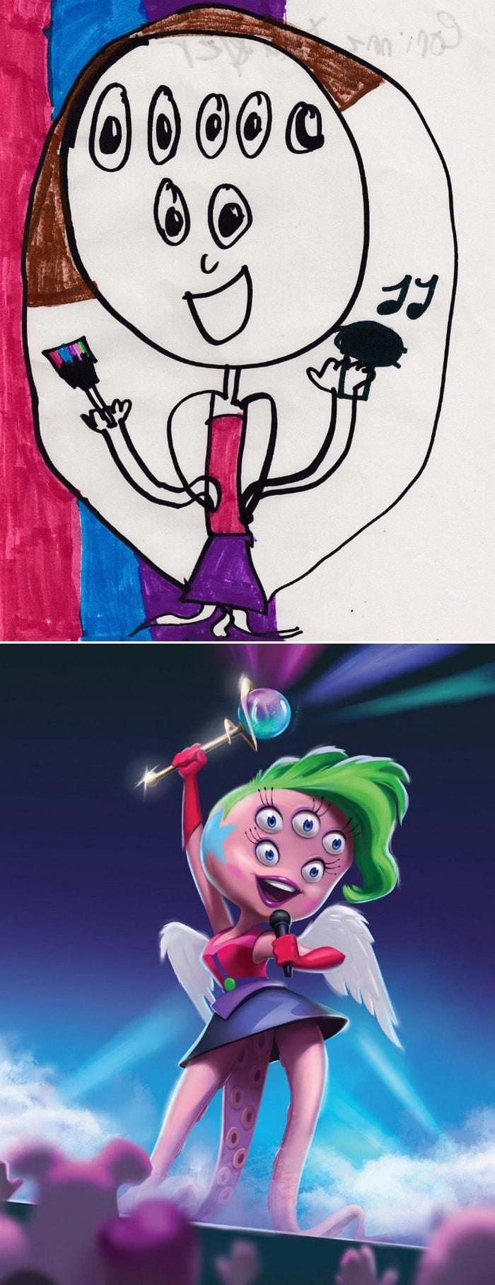 Projeto Monstro - Crianças desenham monstros e artistas recriam com sua arte 5
