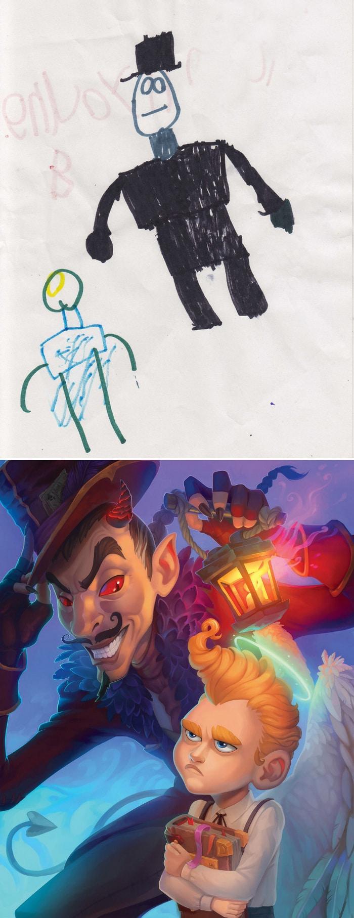 Projeto Monstro - Crianças desenham monstros e artistas recriam com sua arte 11