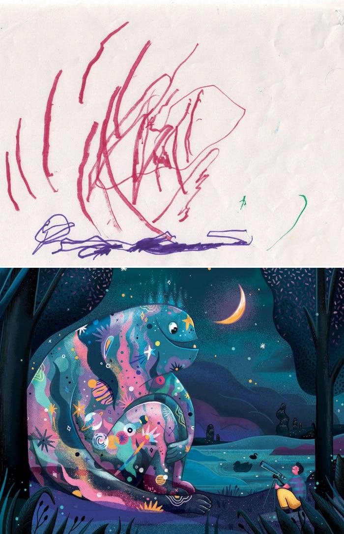 Projeto Monstro - Crianças desenham monstros e artistas recriam com sua arte 15
