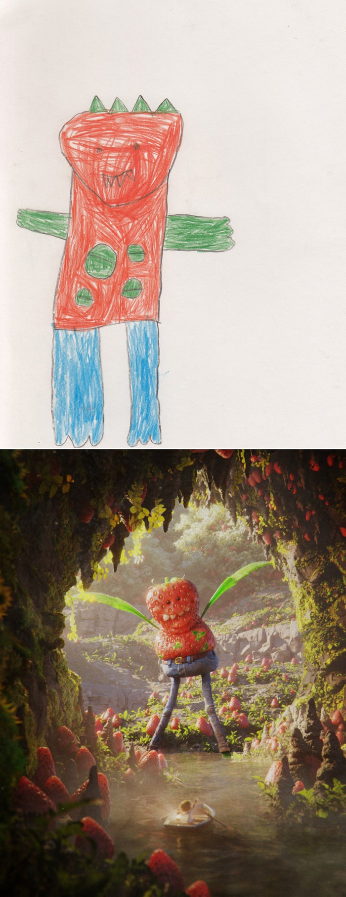 Projeto Monstro - Crianças desenham monstros e artistas recriam com sua arte 20