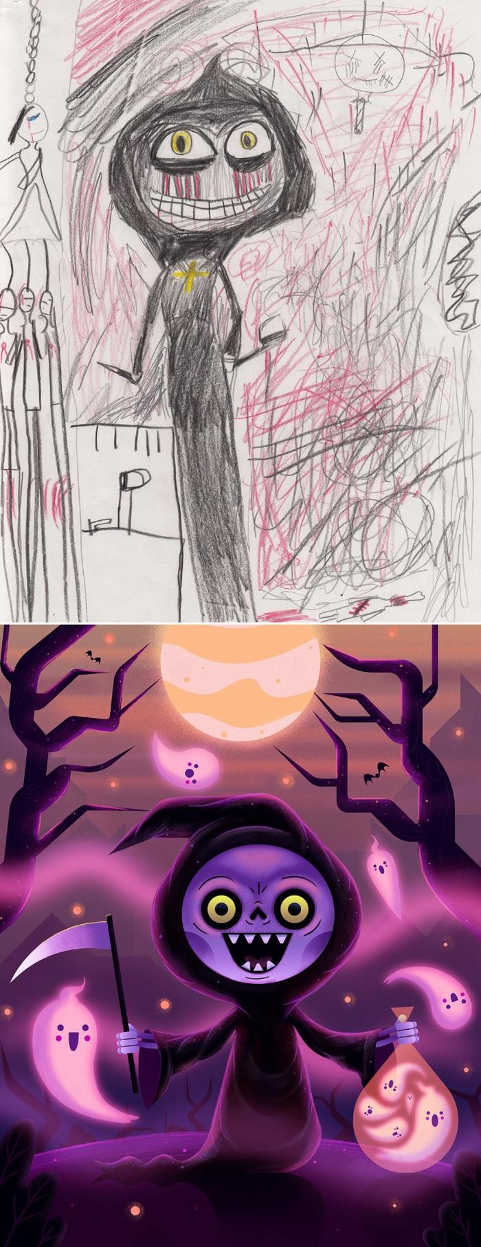Projeto Monstro - Crianças desenham monstros e artistas recriam com sua arte 22