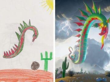 Projeto Monstro - Crianças desenham monstros e artistas recriam com sua arte 39