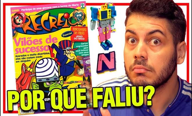 A história da revista mais legal do Brasil! 1